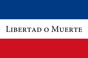Bandera de los Treinta y Tres Orientales.
